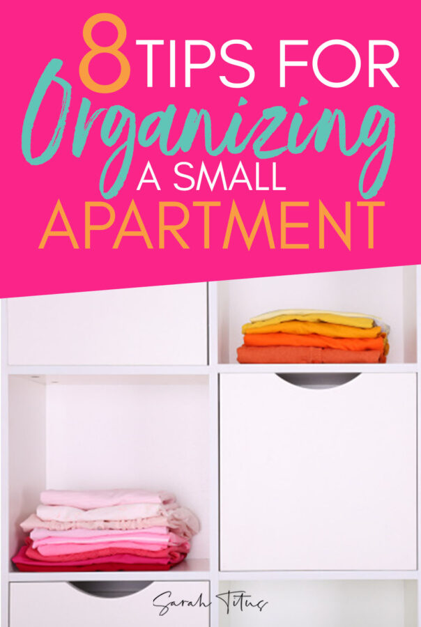 Tricks and Tips for Organizing a Small Apartment