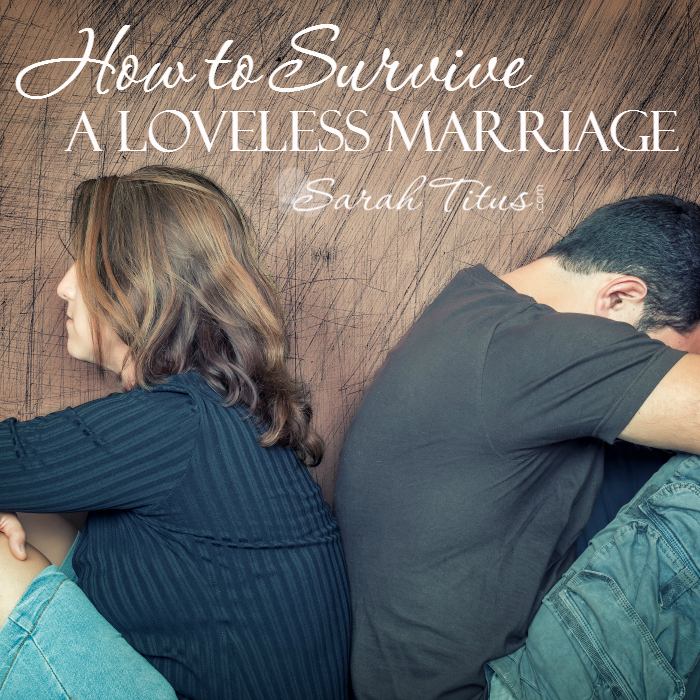 How to Survive a Loveless Marriage