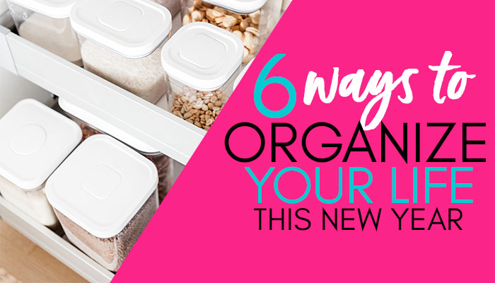 One resolution that lots of people make is to get more organized. Doing so will greatly improve how smooth your year could be as well as decrease stress. Ways to Organize Your Life in the New Year.