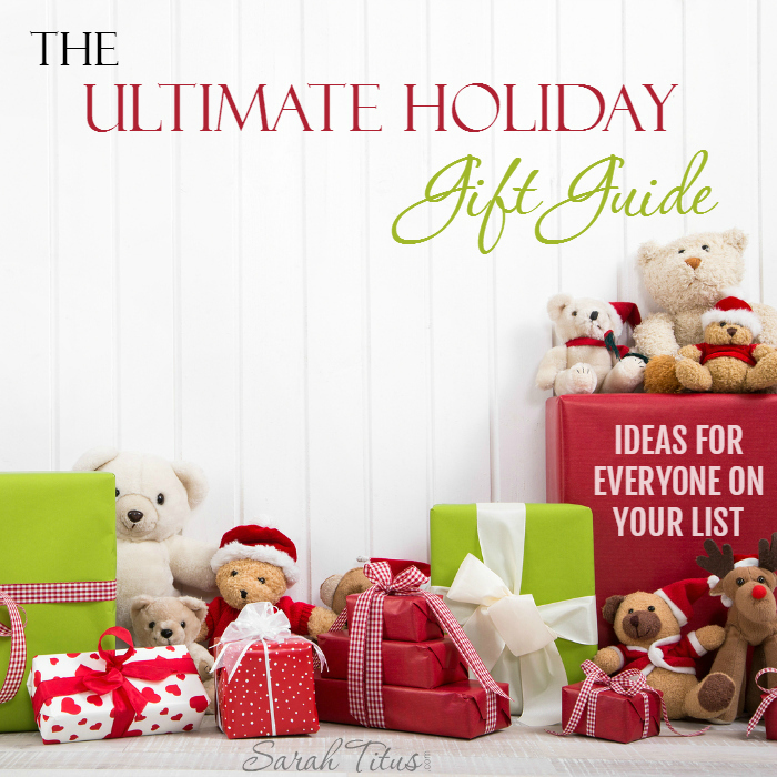 """Do you wish it was just super simple to buy a gift and be done with your gift shopping, not having to deal with the crowds and the research and """"sales""""? Check out this ULTIMATE holiday gift guide, designed to help you buy for everyone on your list...the easy way!"""