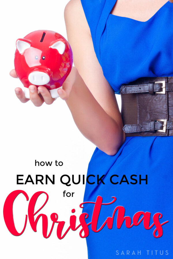 After working in the banking industry for over a decade and making money online for over 20 years, I've seen it all. Here are THE best ways to earn quick cash for Christmas!