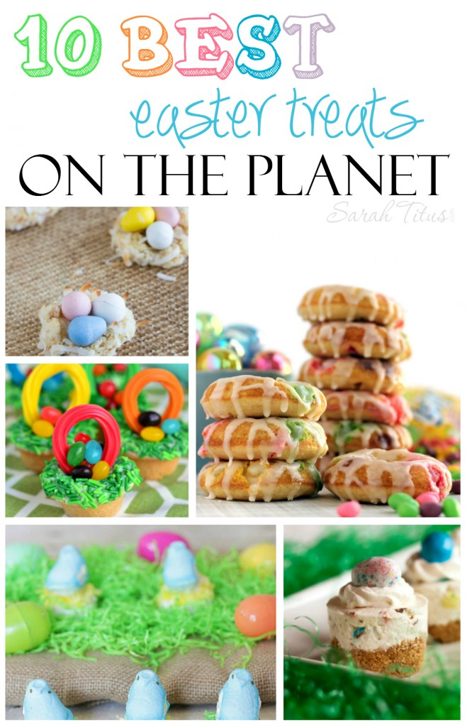 Are you heading to a party or get-together this Easter and don't know what to bring? Don't have time to scour the internet looking for the best, most prize-worthy treats to make? Here are THE 10 Best Easter Treats On The Planet.