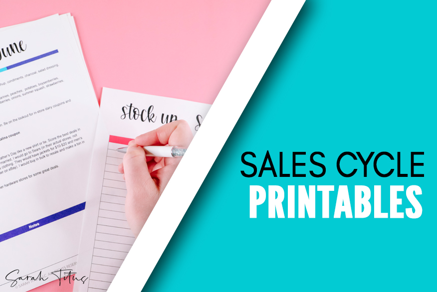 Sales Cycles: What to Stock Up on and When