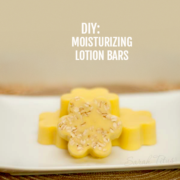 These DIY Moisturizing Lotion Bars are perfect for chapped or extremely dry skin. Your body naturally melts the lotion when applying, so they absorb into your skin leaving it refreshed and soothed.