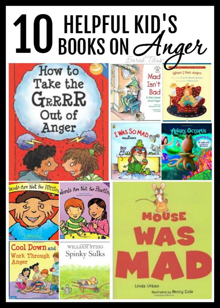 10 Helpful Kid's Books on Anger
