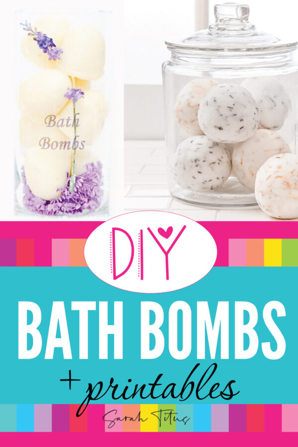 Who doesn't like bath fizzy bombs?! I know my kids go crazy over these things and you can easily make these DIY bath fizzy bombs yourself from home with just a couple ingredients!