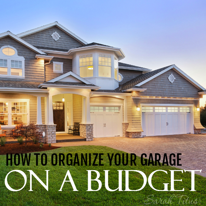 The garage is one of those places in our homes where it can easily become a catch-all for just about everything. Not only do you want to organize your garage, but you want it to be budget friendly as well. Here's how to do that, How to Organize Your Garage on a Budget.