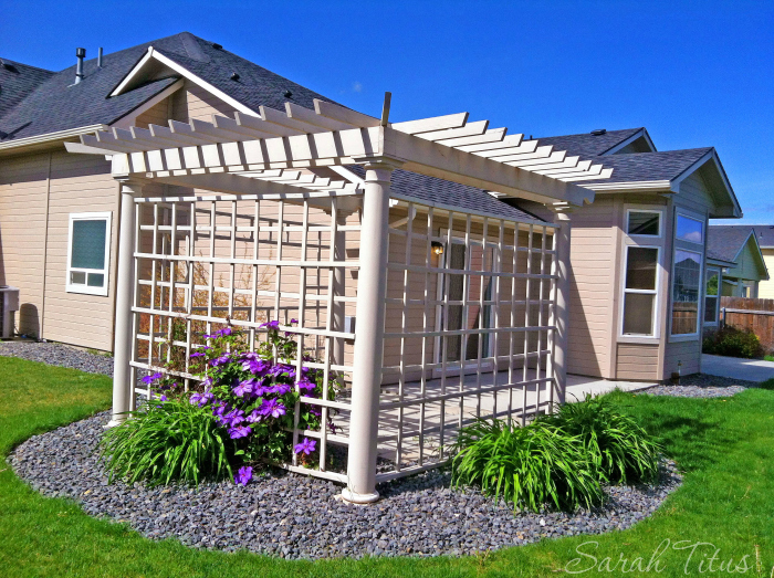 Fixing up outdoor space for a low cost home improvement