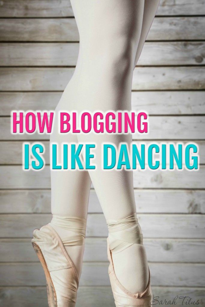 You HAVE TO put your own spin on your blog, otherwise, you'll never make it! Here's how blogging is like dancing and why you should want to blog YOUR WAY!