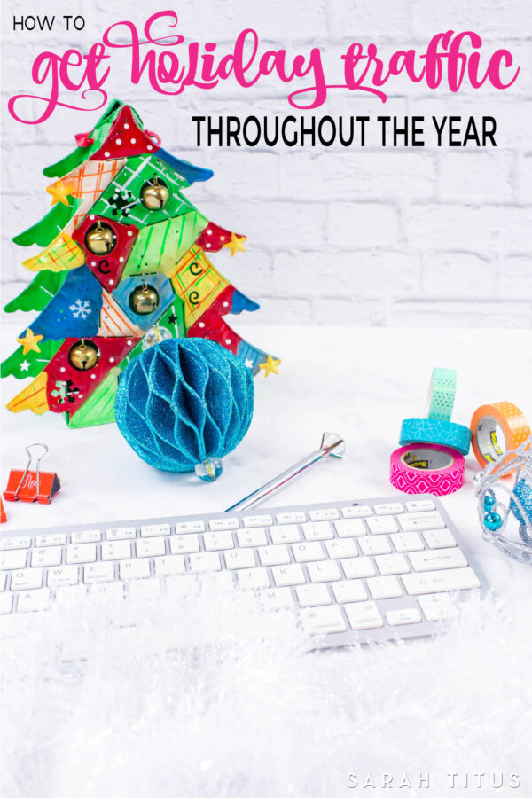 Holiday traffic is some of the best traffic your blog can get, but not if you don't know how to plan it right. Get Holiday traffic throughout the year with this fantastic guide. I'll show you when and what to post to maximize the amount of pageviews you receive.