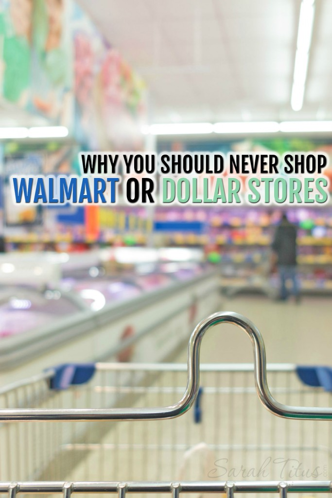 There's a lot of truth in this! We stopped buying patterned leggings at Walmart for our girls because the patterns wash away! Many things are made so cheap that you find broken ones before you buy at Walmart! Apparently I'm not the only one who's learned. Find out why Consumer Reports agrees! Wanna save money? DON'T shop Walmart! Why You Should Never Shop Walmart or Dollar Stores If You Want to Save Money