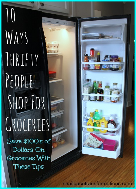 Change the way you shop and save! #4 is something very few people do and such a huge loss for them!