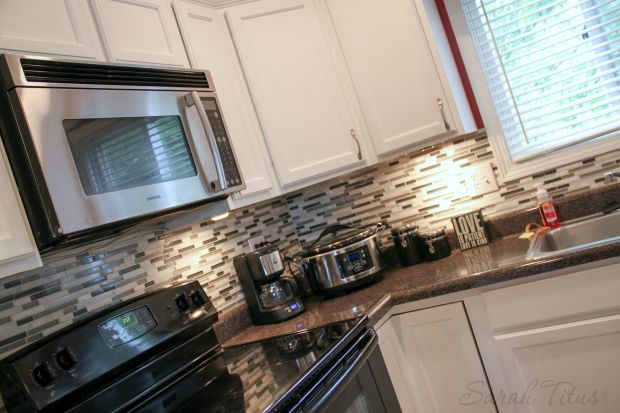 How To Remodel Your Kitchen On A Budget - Under-cabinet-lighting-adds-a-good-mood-to-the-kitchen