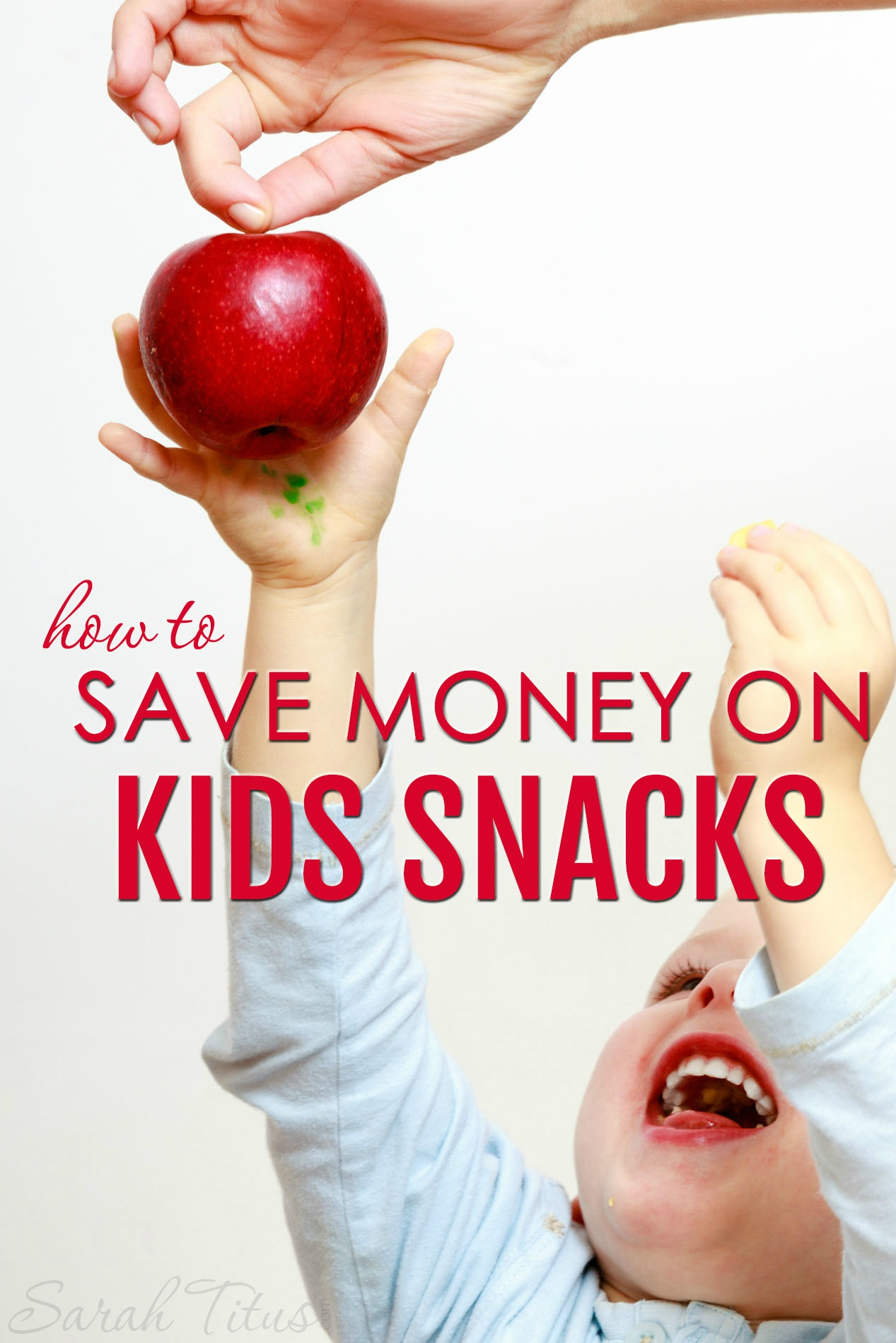 Snacks can get super expensive for kids if you're not careful. They can quickly eat up your grocery budget, leaving you with no money for the rest of your groceries. Here are some great tricks on how to save money on kids snacks that will solve that problem!