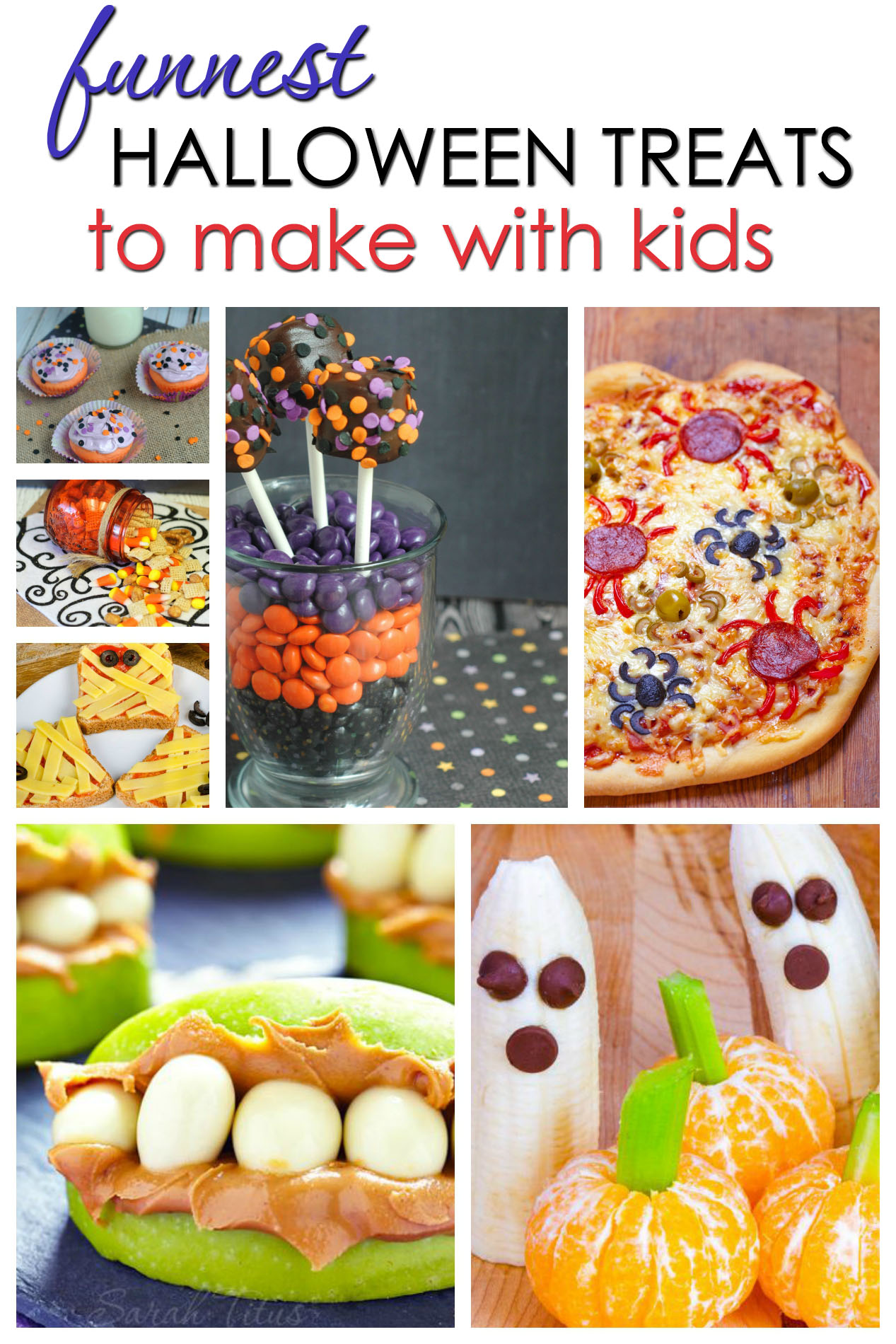 Funnest Halloween Treats To Make With Kids