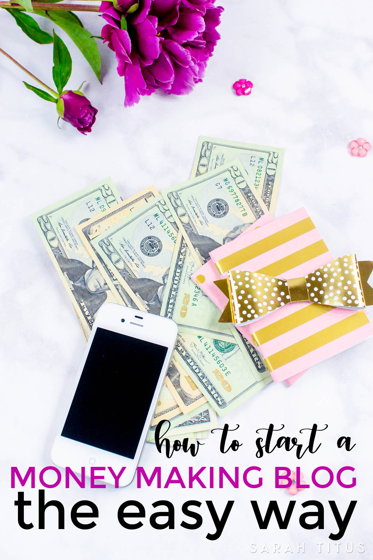 I will make it so easy for you, you'll wonder why you haven't started a blog before!