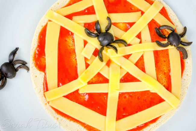Funnest Halloween Treats To Make With Kids - Pizza