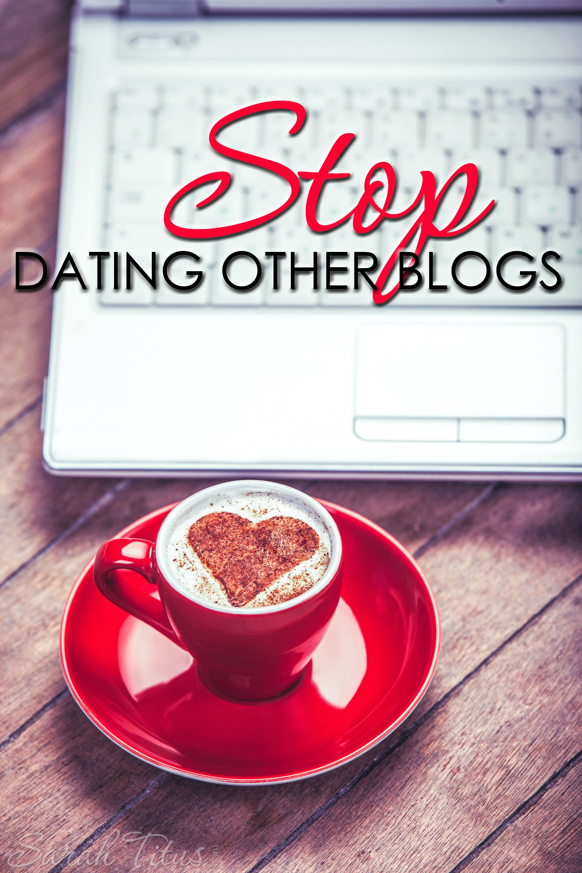 If you're rushing around, listening to what every blogger has to say, you're short-changing yourself in a major way. You need to stop dating other blogs and commit to these three things.
