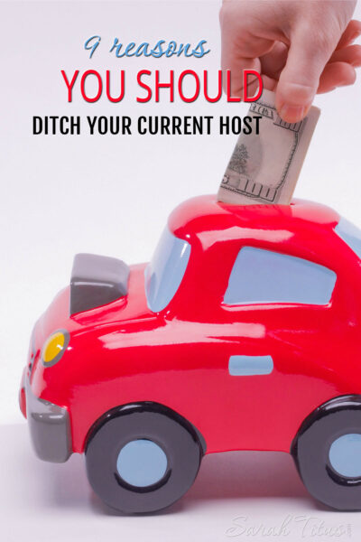 A host can make or break your blog. In my case, it broke it...a few times. Find out how, why you should ditch your current host, and what to look for in a host you can trust.