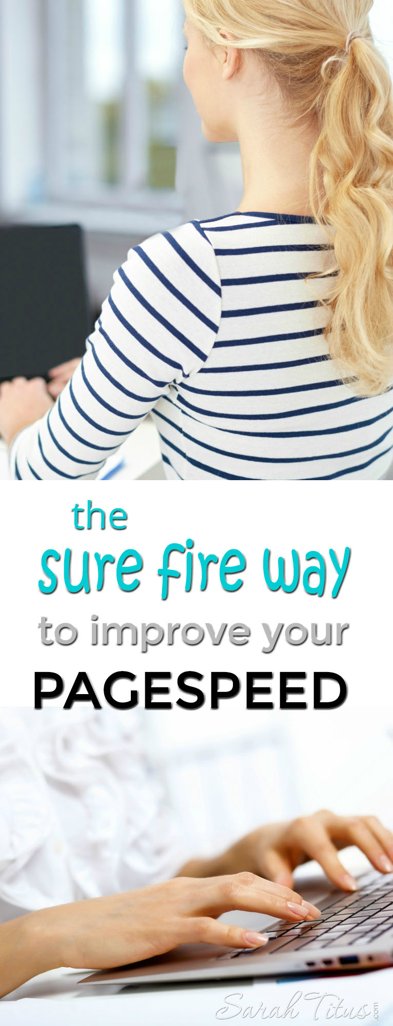 I reduced my pagespeed by over 6 seconds using this method. Here's the sure fire way to improve your pagespeed too!