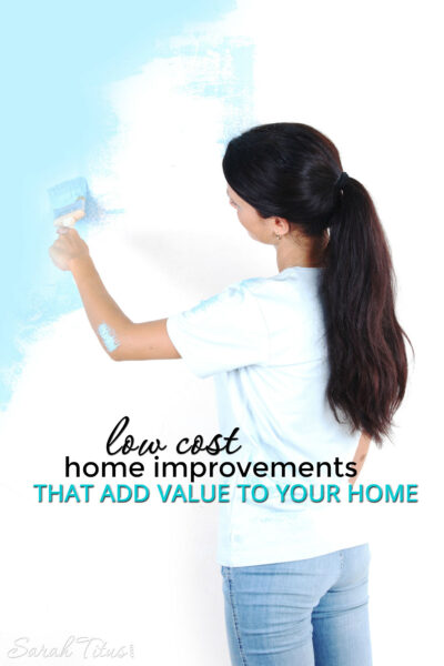 In this economy, it can seem like your house is not worth as much as you'd like, but there are very simple, low cost home improvements that add value to your home very quickly. Find out how to add value to your investment!