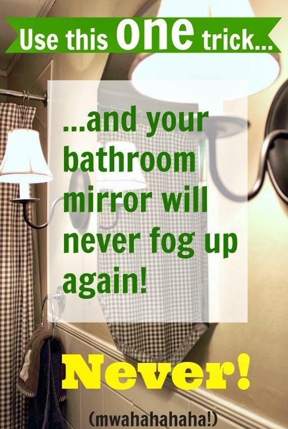 Mirror-Fog-Free