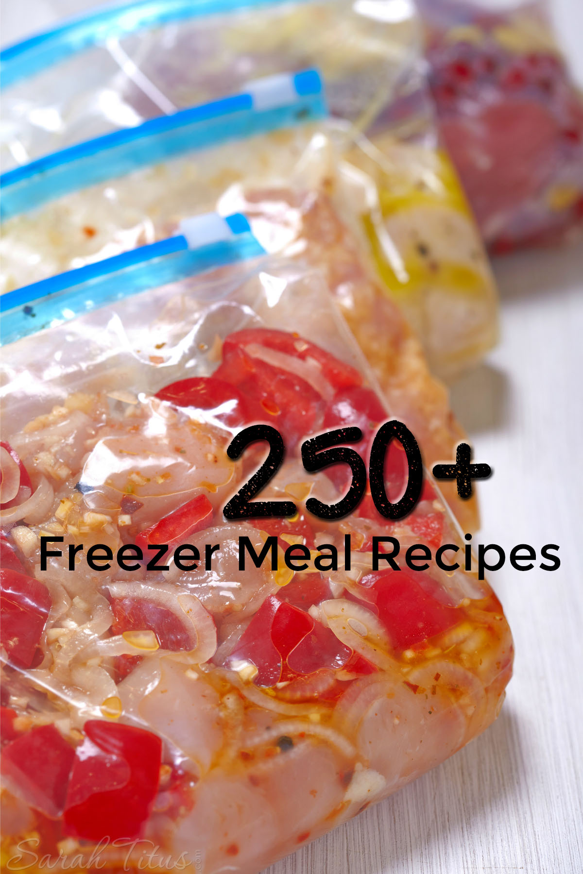 It's 5 o'clock and you are searching your fridge and pantry for something to make. With these 250+ easy freezer meal recipes, that will never happen again!
