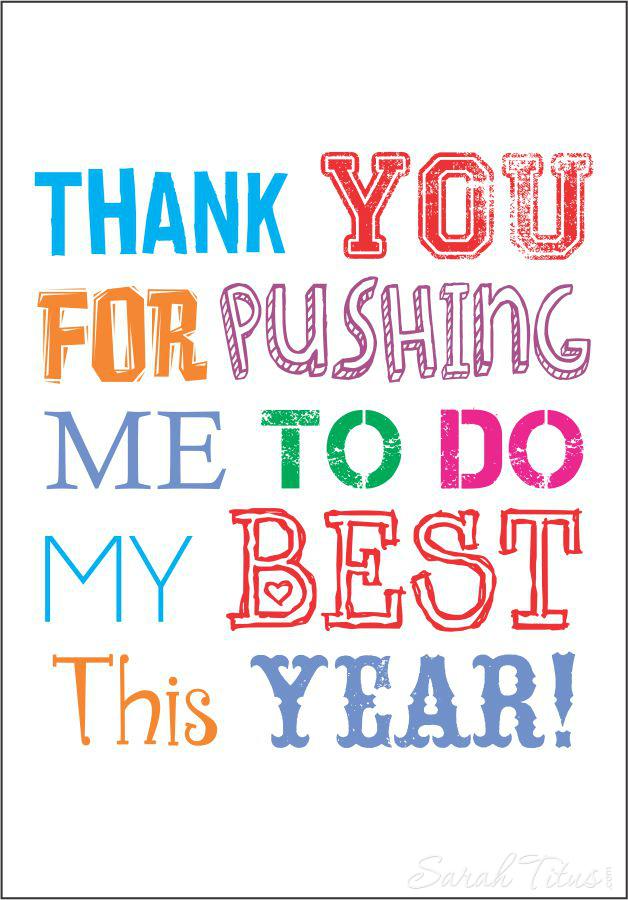 Easy Teacher Appreciation Gift Idea Free Printable