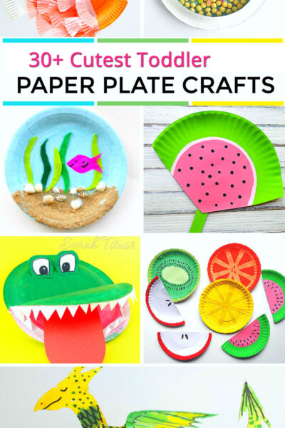 If your kids are literally obsessed with making crafts like mine are, you'll really love this collection of cutest toddler paper plate crafts to make. All the best crafts, right in one spot!