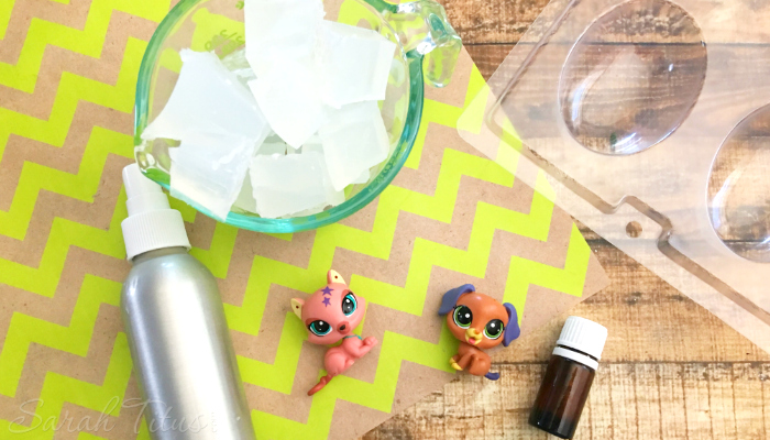 Everybody loves LPS! EVERY BODY! Here's how to make your very own Littlest Pet Shop Homemade Soap with Essential Oils sure to please kids and adults alike!