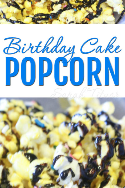If you like salty sweet combinations and are looking for something different, this Birthday Cake Popcorn will become your new favorite way to enjoy popcorn!