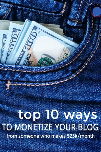 As a successful blogger, I've had the privilege of getting to know a myriad of ways in which to earn income blogging. Here are the top 10 ways to monetize your blog.