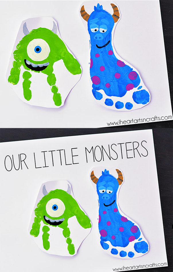 Have a Monsters Inc Fan in your house? Then these are for you to try!