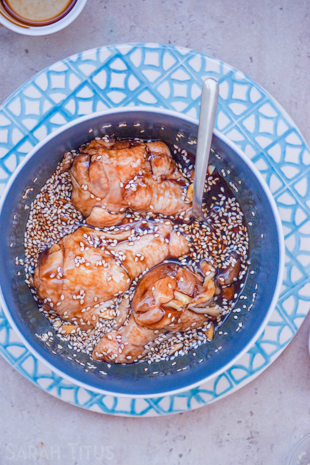 These Sticky Soy Chicken Wings are a fresh take on chicken- you will feel like you are eating Chinese takeout, but with a lot less fat and salt.