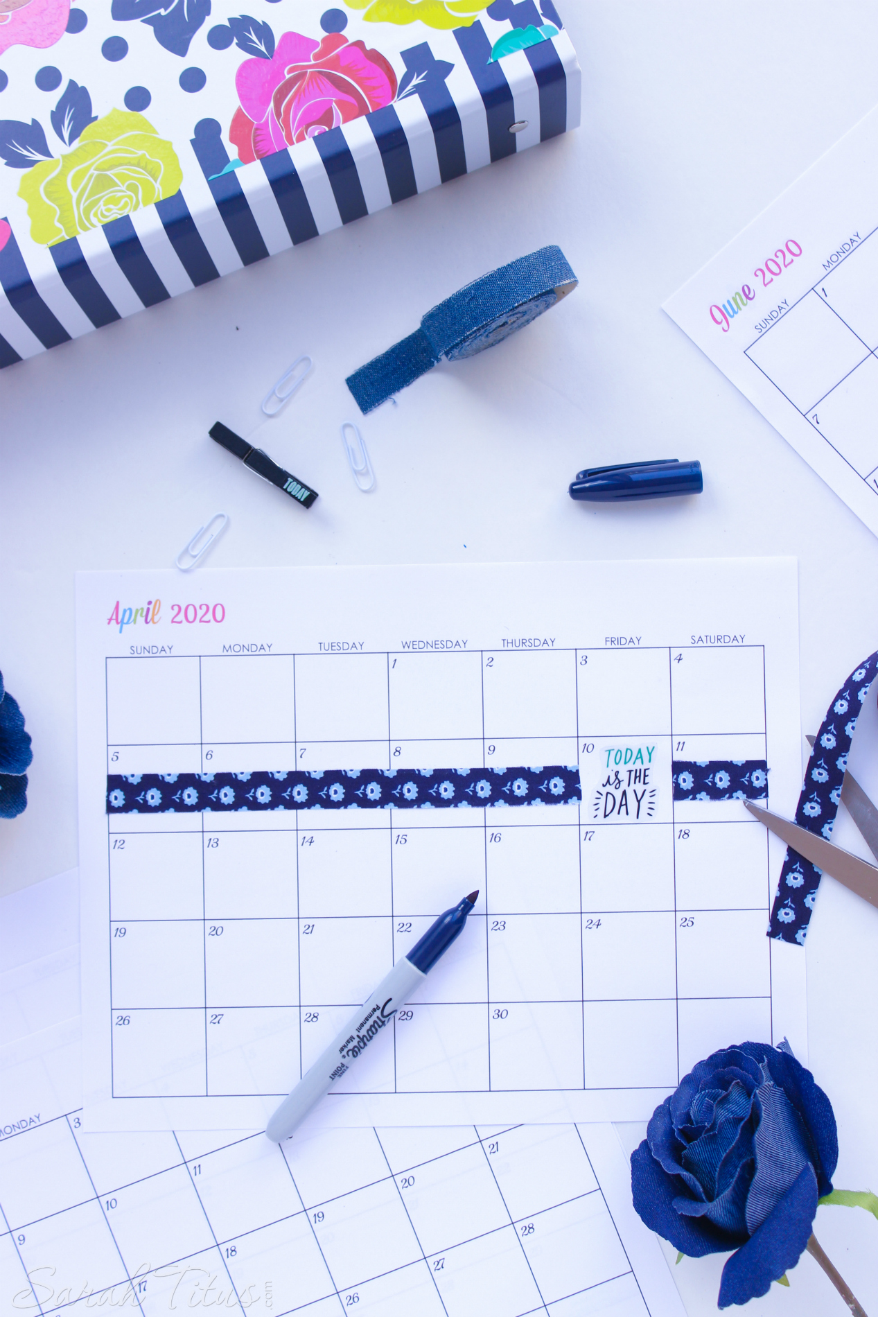 Free Printable 2020 Calendars - Completely editable online!!! Use them for menu planning, homeschooling, blogging, or just to organize your life.