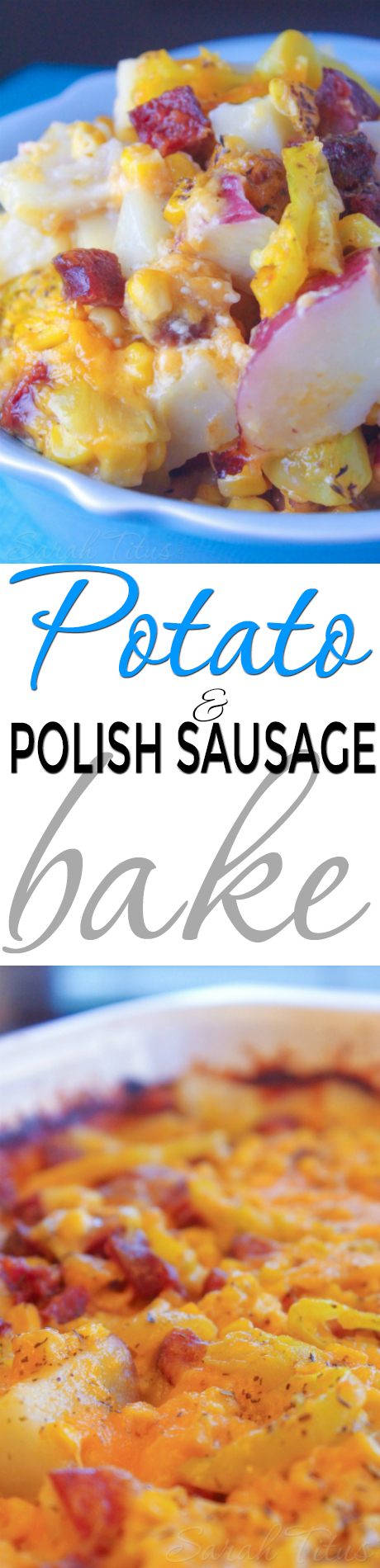 With just a few ingredients and 30 minutes, you could have dinner on the table in a jiffy with this deliciousPotato and Polish Sausage Bake.