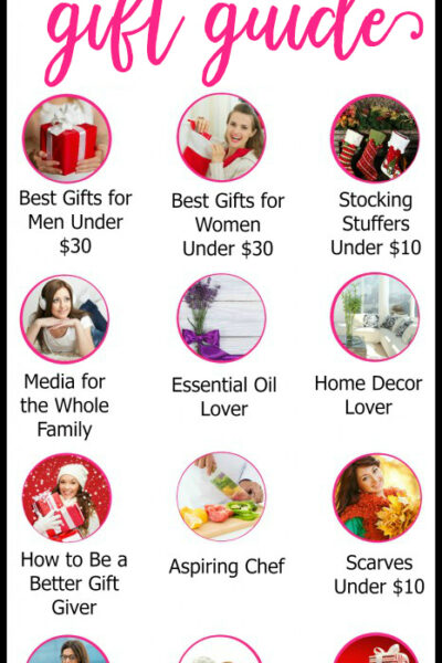 Do you wish it was super simple to buy a gift and be done with your shopping? Check out this ULTIMATE holiday gift guide, designed to help you buy for everyone on your list...the easy way!