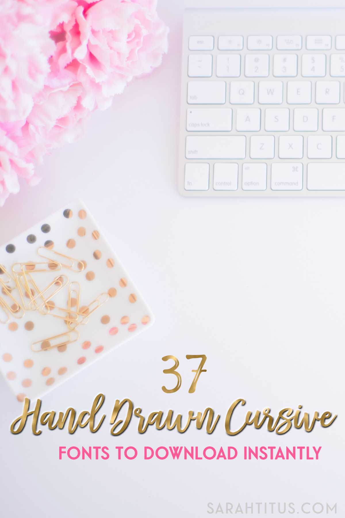 Having the same font as everyone else is like showing up to a party in the same dress as someone else. Be different with these 37 hand drawn cursive fonts to download instantly!
