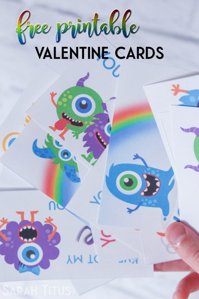 No need to buy Valentine Cards! Get these free cute monster themed ones for your little ones to share with their class mates :)