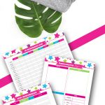 Whether you're just starting your exercise routine or been at it for years, this fitness planner free printables set will help you get in shape and organize your fitness plan. #fitnessplan #loseweight #fitness #fitnessbinder #fitnessplanner #binder #planner
