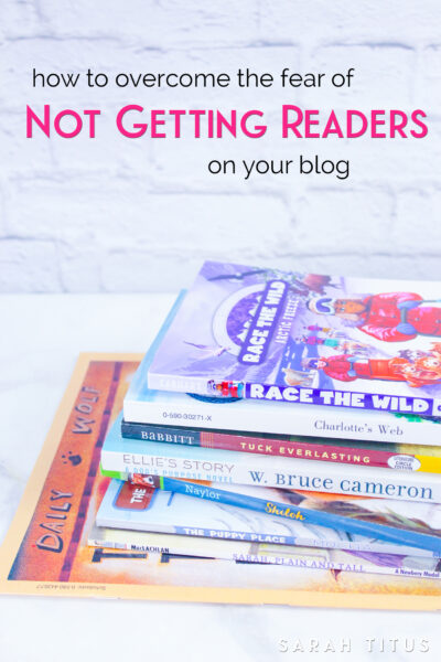 """Genea from Indiana says her #1 biggest blogging frustration is, """"Fear. I am afraid no one will read it and it will be awful and a big waste of time."""""""