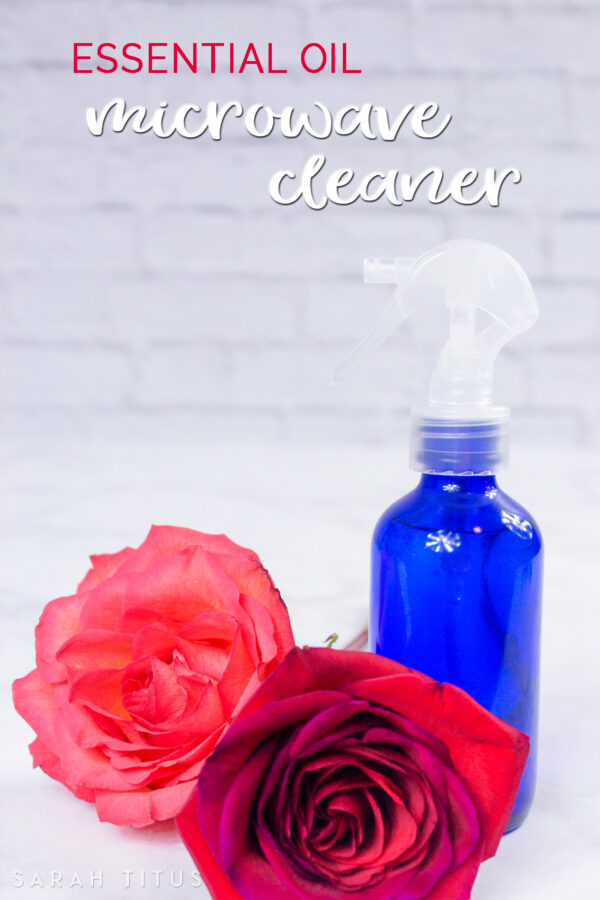 Cleaning stuck on microwave grime is super difficult....but not if you have your secret weapon, the essential oil microwave cleaner!