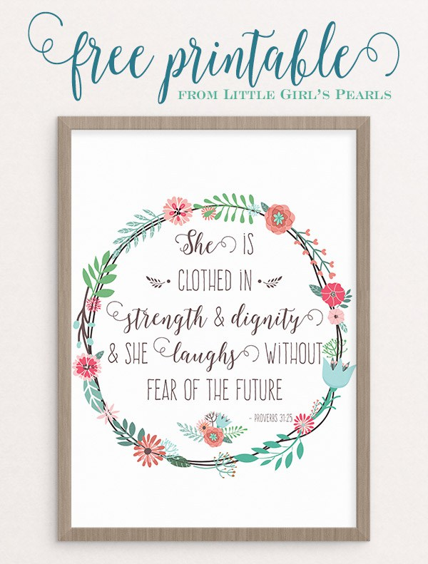 Of course, I can't miss this amazing Wall Art with this beautiful bible verse! Always prepare for the future without any fears because we know our strength is in God.