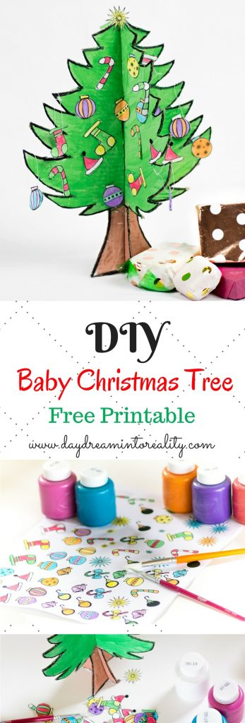 Build a baby tree with your kids! This printable is so cute and creative. Your kids will love it :)