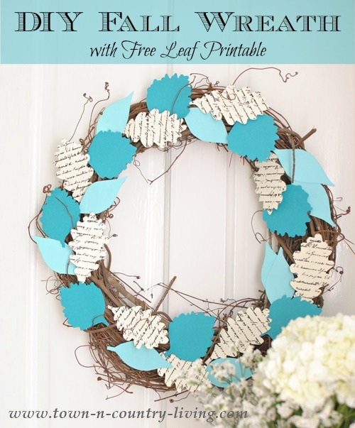 Decorate your home with this beautiful Fall Wreath!