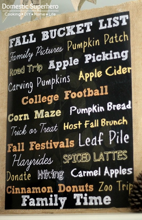Don't miss out on anything this season. Let this fall printable be a good reminder!