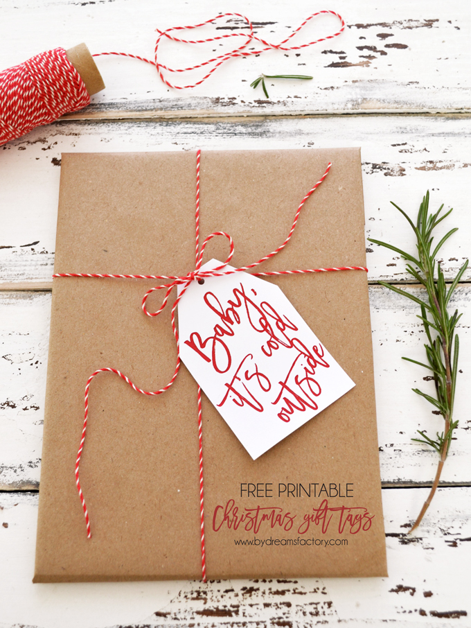 Why spend money on gift tags when you can easily print these ones out for free!
