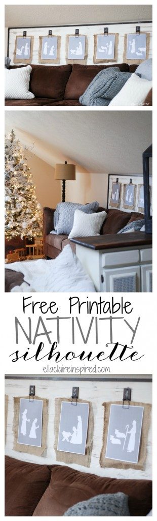 This Christmas Printable is just out of this world. It will bring the perfect and elegant touch to your home.