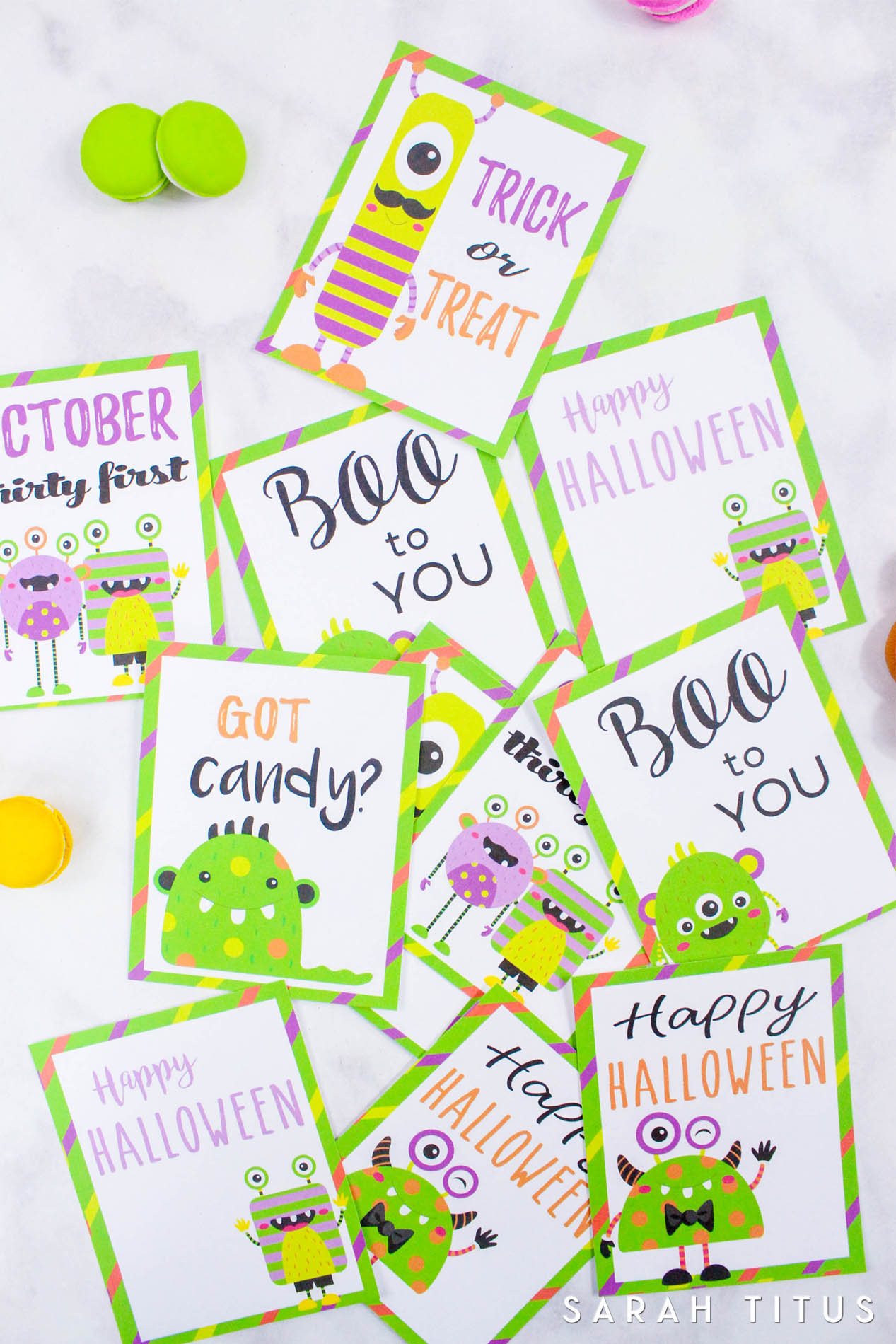 No need to go to the store and pay $10 for a game for your kids to play. Simply print these Halloween cards out FOR FREE!