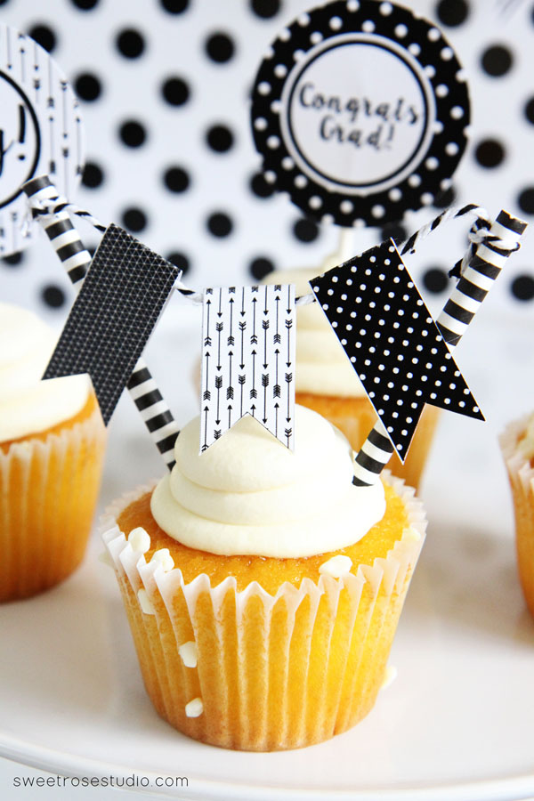 If you are hosting a graduation party, these printables will make it look like you hired a top end event planner!